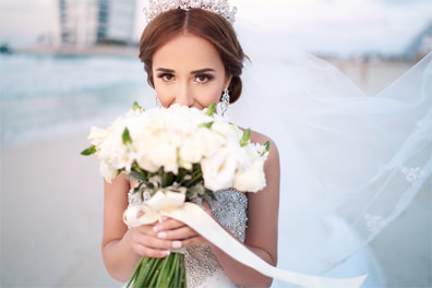 Happy Bride after Wedding
