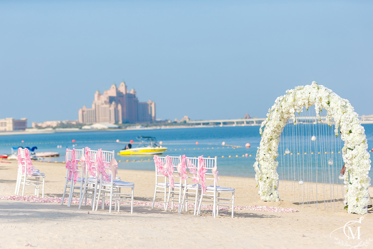 Beach Wedding in Dubai